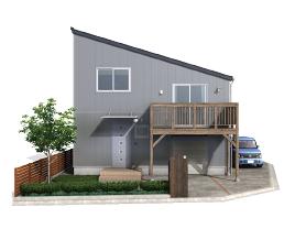 建築中‼スキップフロアの家