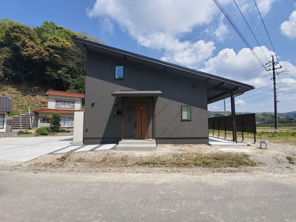 自然素材の平屋+αのお家