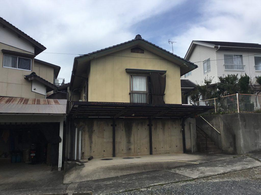 浜田市長浜町 セキスイハウス平屋建て(築34年中古住宅)